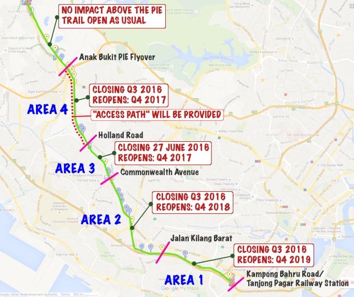 Green Corridor Project Timeline